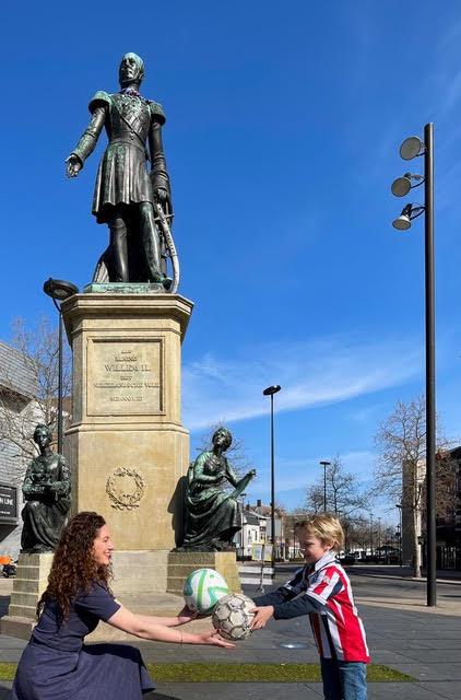Willem II standbeeld