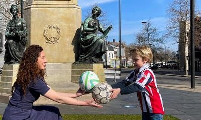 Oproep: lever je oude voetbal in (en ontvang een nieuwe) voor duurzaam Willem II-standbeeld